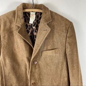 Dolce & Gabbana Corduroy Sport Coat Jacket Blazer